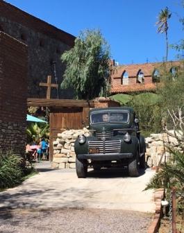 The back of Cafe El Triunfo