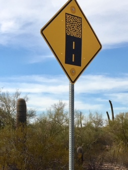 bad road sign