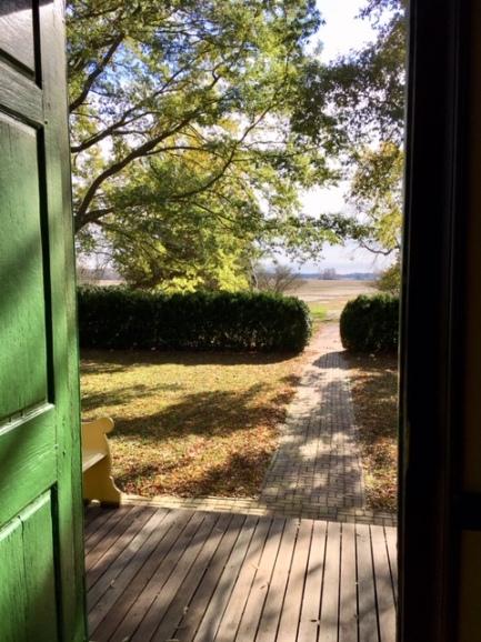 dickinson view from front door
