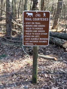 trail courtesies