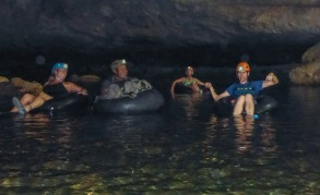 tubes in cave