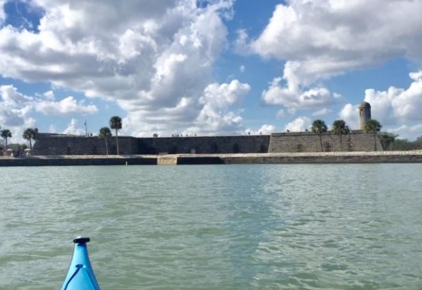 castillo from water